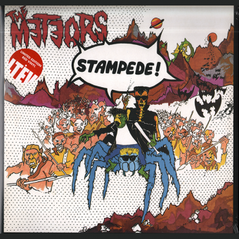 "Meteors, The ""Stampede!"" Deluxe LP (lim. 500, red)"