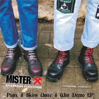 "Mister X ""Punx & Skins Unite & Win"" LP (black)"