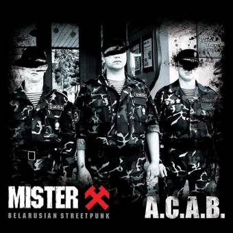 "Mister X ""A.C.A.B."" EP 7"" (lim. 300, black)"