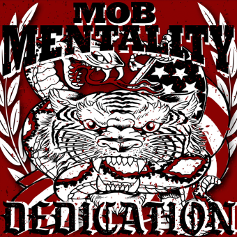 "Mob Mentality ""Dedication"" LP (red)"