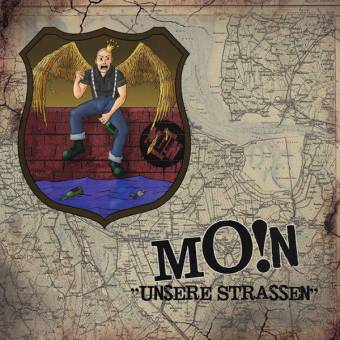 """Moin """"Unsere Strassen"""" EP 7"""" (lim. 300, bloodred)"""