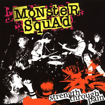 "Monster Squad ""Strength through Pain"" LP (lim. 250, yellow / red splatter)"