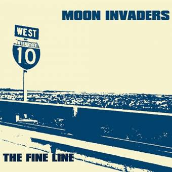 "Moon Invaders ""The fine line"" CD"
