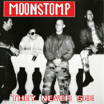 "Moonstomp ""They Never See"" LP (lim. 300, black)"