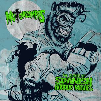 "Motorzombis ""The Curse Of Spanish Horror Movies"" EP 7"" (lim. 500, black)"