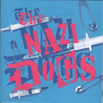"Nazi Dogs ""Saigon Shakes"" EP 7"" (lim. 150, blue vinyl and cover)"
