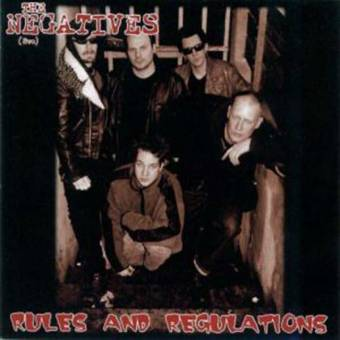 "Negatives, The (SWE) ""Rules and Regulations"" CD"