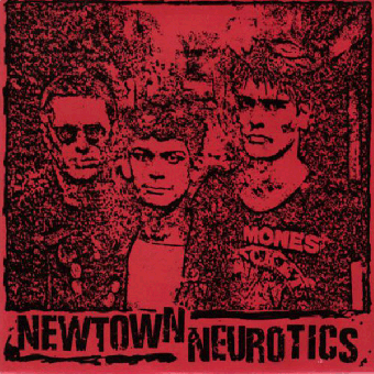 "Newtown Neurotics ""Licensing Hours"" EP 7"" (lim. 400, black)"