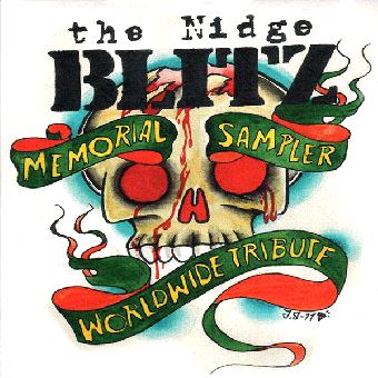 """V/A """"Nidge BLITZ Memorial"""" CD (Pappschuber) + 7"""" EP"""