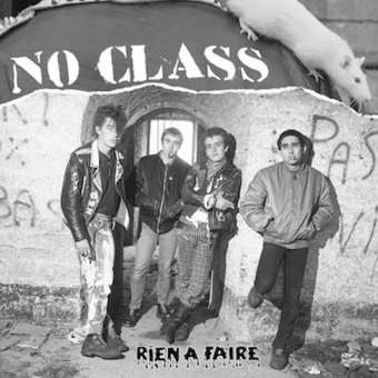 "No Class ""Rien A Faire"" LP + CD (white)"