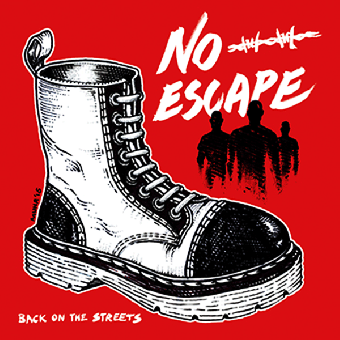 "No Escape ""Back on the streets"" EP 7"" (lim.200, black)"