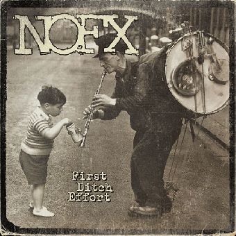 "NOFX ""first ditch effort"" LP (lim. colored)"