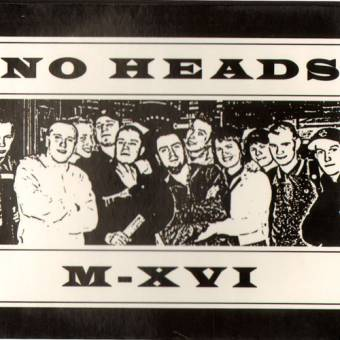"split No Heads / M-XVI ""same"" CD (DigiPac)"