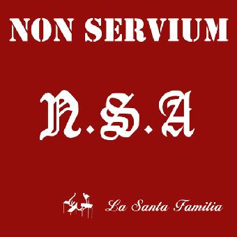 "Non Servium ""N.S.A La Santa Familia"" LP (lim. red)"