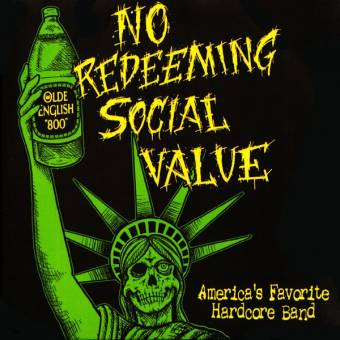 "No Redeeming Social Value ""America`s Favorite Hardcore"" MCD (Pappschuber)"
