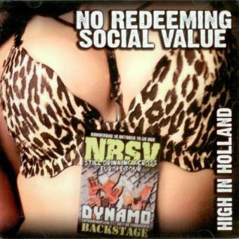 "No Redeeming Social Value ""High in Holland"" CD"