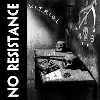 "No Resistance ""V.I.T.R.I.O.L"" LP (lim. 200, milky)"