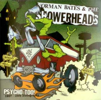 """Norman Bates and the Showerheads """"Psycho Too"""" CD"""