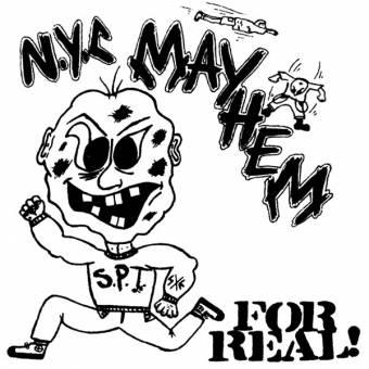 """N.Y.C. Mayhem """"For real"""" LP (lim. 500, black)"""