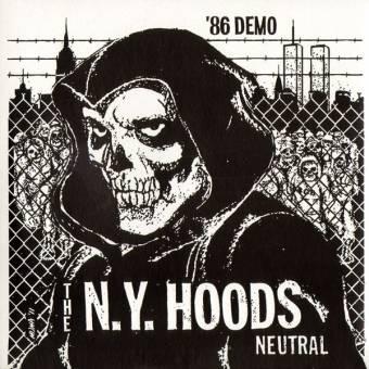"""N.Y. Hoods """"`86 Demo"""" EP 7"""" (lim. col. + download)"""