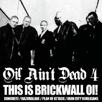"""V/A """"Oi! Ain`t Dead 4"""" CD"""