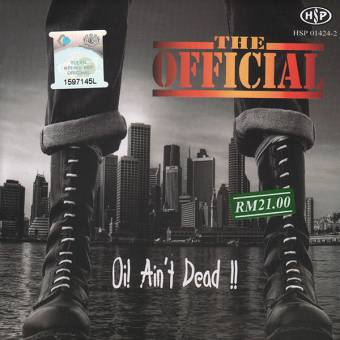 "Official, The ""Oi! ain`t dead"" CD"