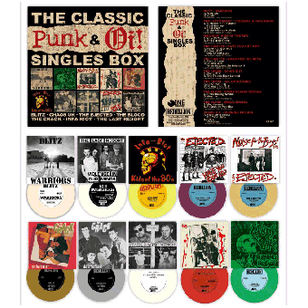 "V/A The Classic Punk & Oi! Singles Boxset 10 x 7"" (lim. 500)"