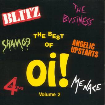 """V/A The best of Oi! Vol. 2 LP+7"""""""