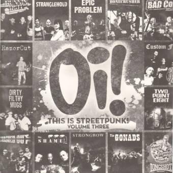 "V/A Oi! ""This is Streetpunk Vol. 3"" 12"" LP (lim. 1313, black)"