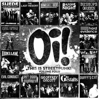 "V/A Oi! ""This is Streetpunk Vol. 4"" LP (black)"