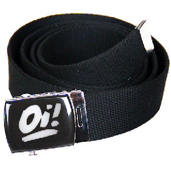 Oi! (weiss) Gürtel / belt