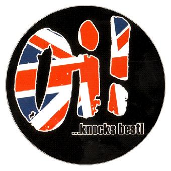 "Oi! ...knocks best!"" Aufkleber / sticker 078"