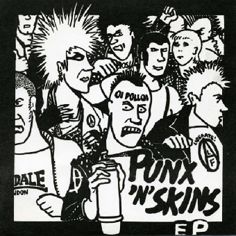 "Oi Polloi ""Punx`n`Skins"" EP 7"" (lim. 400, black)"