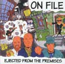 "On File ""Ejected from the Premises / Another Day in Paradies"" CD"