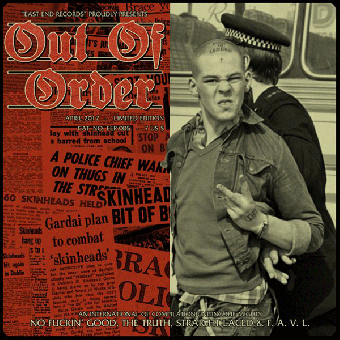 """V/A """"Out of Order"""" (Truth, Straight Laced, F.A.V.L.) EP 7"""" (lim.100, 1st sleeve)"""