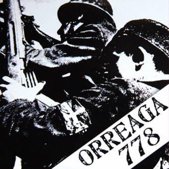 """Orreaga 778 """"same"""" EP 7"""" (lim. 400, black)"""