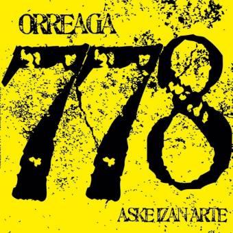 """Orreaga 778 """"Aske Izan Arte"""" LP (black)"""