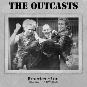 "Outcasts, The ""Frustration"" LP+MP3 (2nd press, lim. 200, black)"