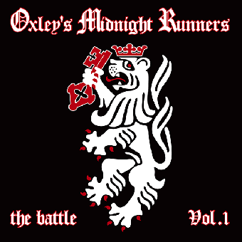 "Oxley`s Midnight Runners ""The Battle Vol. 1 - Singles Collection"" LP (black)"