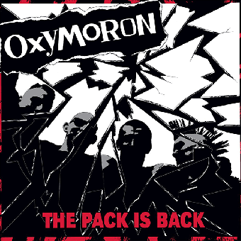 "Oxymoron ""The pack is back"" LP (lim. 200, red)"