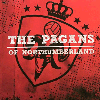"""Pagans of Northumberland, The """"same"""" EP 7"""" (red)"""
