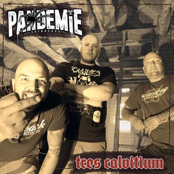 """Pandemie """"Tres Calvitium"""" LP (black)"""