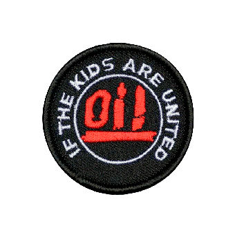 Oi! - If the kids are united (groß) - Aufnäher (gestickt)