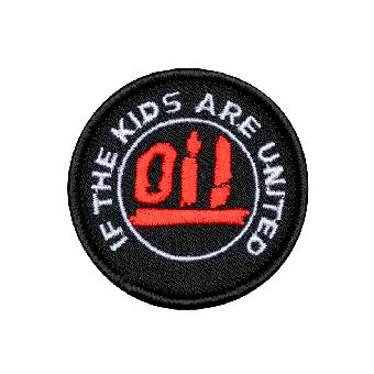 Oi! - If the kids are united (groß) - Aufnäher (gestickt)