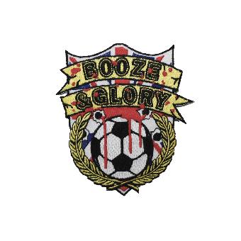 """Booze & Glory """"Logo"""" Aufnäher / patch (gestickt)"""