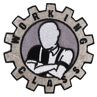 Working Class Patch (gestickt)