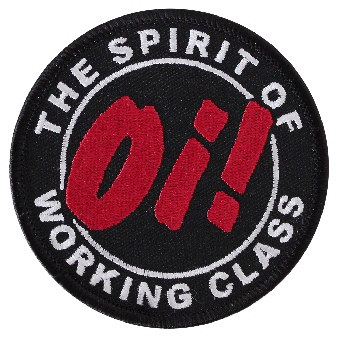 Oi! The Spirit of working class Aufnäher (gestickt)