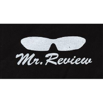 Mr.Review - Aufnäher (Druck)