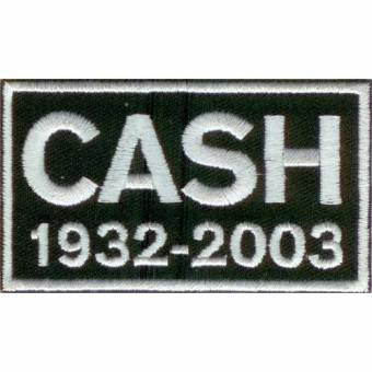 Cash 1932-2003 - Aufnäher / patch (gestickt)