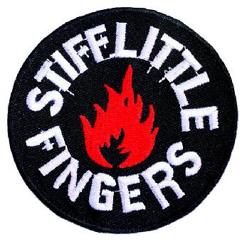 "Stiff Little Fingers ""Flame"" Aufnäher (gestickt)"